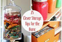 Storage ideas!
