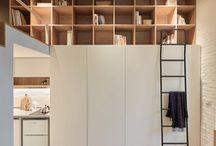 Interior design // Compact apartments