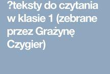 1 klasa j.polski