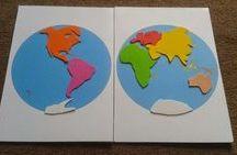 Cahier de géographie enfant