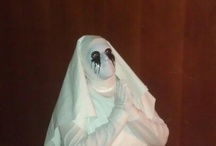 halloween / every year I scare one of my kids. This year it was my 14 year old daughter.  This is what I was!!
