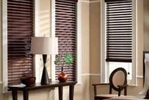 Faux Wood Blinds / Buy Online Discount Blinds, Shades, Shutters - Shop a huge selection of premium quality cheap blinds. Choose from cellular, roller, roman, solar shades, faux / real wood, vertical blinds. / by Annette Sims