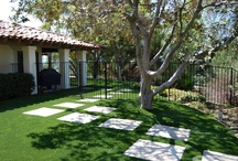 Artificial Grass Residential / Artificial Grass applications for Residential Homes. Xeriscaping, artificial turf, fake grass, saving water and other conservation efforts.
