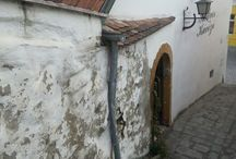 Szentendre stairs, windows.. old houses