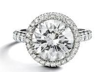Diamonds / Beautiful diamonds and engagement rings. Diamondhedge.com / by Diamond Hedge