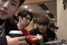 Imfact / Taeho, Jeup, Jian, Lee Sang, and Ungjae.