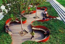 public area, public garden