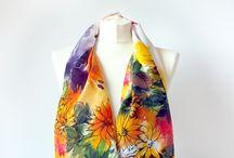 Zonnebloemen zijde