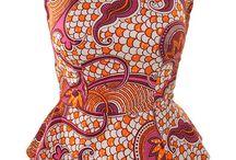 African prints tops