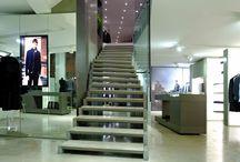 Artwork / Staircase ZAG for CERRUTI 1881