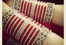 chura♡♡ / Sikh wedding bangles that is soaked in milk before the brides wears it...