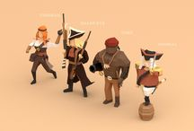 The Merchants (Character Concepts)
