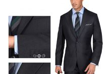 Traveller Suits / Wrinkle-resistant - 100% Super 110s wool by Vitale Barberis Canonico