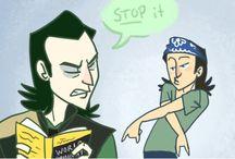Tom And Loki!!!xD