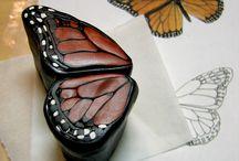 motýl hmota