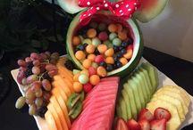 Cibo e bevande alla frutta , idee per feste