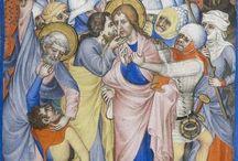 Parti-colour, Medieval