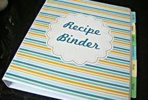 Binder: Recipe & Meal Planner / by Kindy Monroe