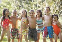 kids bathing suit shoot