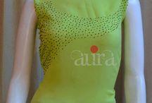 kurtha neckline works