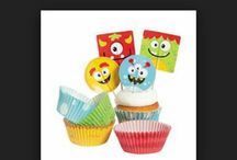 Mini monsters for Marcus 1st Birthday!