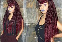 BlackHair//Urban style inspirations / Cute natural hair styles ideas