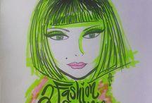 Illustration / Fashion illustration