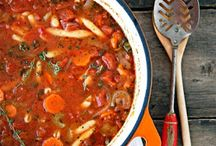 Soup, chili, and stews / by Jo Blankenship