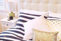bedroom / by Kelsey DiPalmer