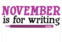 NaNoWriMo / Write, read, revise, and let us help.