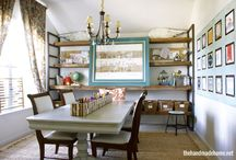 Homeschool - Classroom / Ideas for homeschool classroom storage and organization and decor.