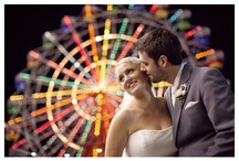 luna park wedding photo