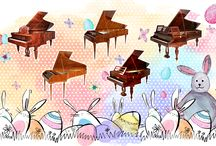 Happy Easter from McNulty piano workshop!