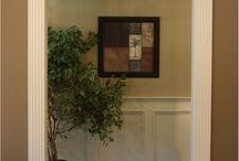 Pediments to interior doors