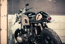 Bikes Cafe Racers
