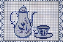 Punto Croce Tè o caffè? / tre