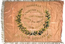 Flags in History / Flags are amazing textiles that tell specific stories. May are composed of varying materials, and can be painted, embroidered, embellished with metallic threads, etc.