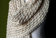 crochet - scarves and shawls