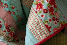 My Style / A room isn't complete without a quilt to cuddle up with, a handmade decoration, or just fabric strewn in the corner. Anything sewn by hand is made with love.