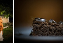 Wedding Rings, Cakes and Flowers / © Claudine Hartzel Photography Wewddings, rings on cakes, ring photographs