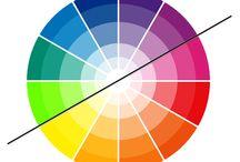 Scegliere e abbinare i colori nell'arredamento di casa / La casa esprime la nostra personalità .  E la tua come è o come la vorresti ?