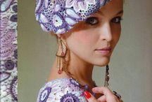 головные уборы и вязка красивых вещей
