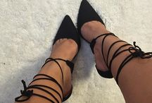Lace up heels