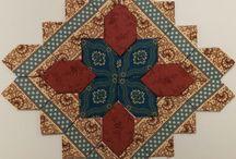 Quilt Blocks---- Patchwork of the Crosses