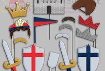 Prince Party / Botezul Cavalerului / Inspiratie pentru un botez special sau o zi de nastere cu tematica Cavaler /  Fat Frumos sau Medieval Party. / Inspiration for Knight Party or Medieval Baby Shower