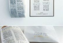 Food fashion / Food packing