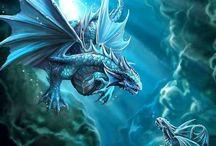 Драконы фэнтези