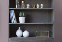 מדפים וספריות Shelves and Bookcases