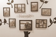 Family tree wall of fame