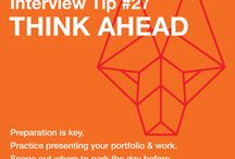 TCP Interview Tips / We had a portfolio review, and now we are taking our top interview tips for graphic designers looking for a job and sharing them over the next couple of weeks!